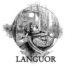 LANGUOR Banner