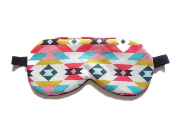 axtec organic cotton sleep mask tribal pattern