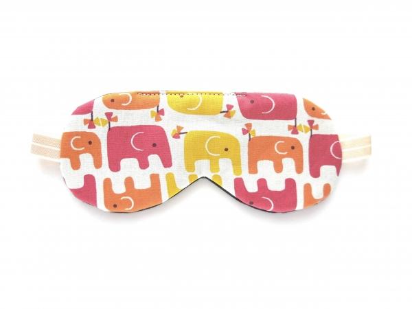 elephant organic cotton sleeping eye mask