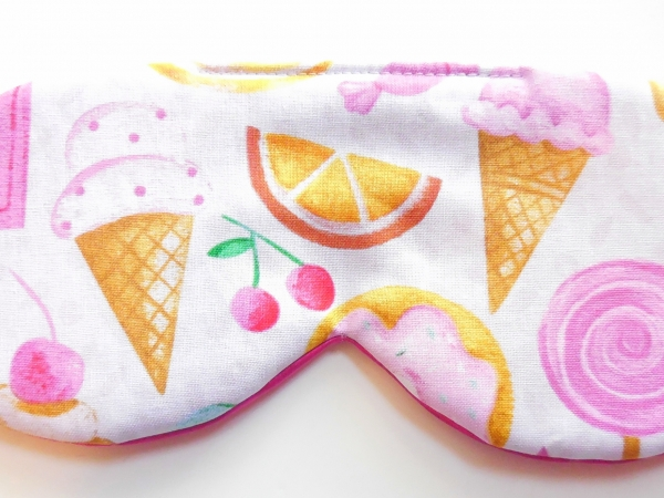 candy cone popsicle eye mask