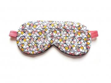 modern print sleeping eye covers