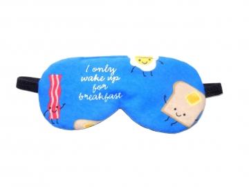 breakfast sleep mask bacon languor