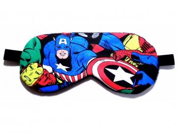 captain america sleep mask