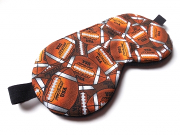 football sleeping eye mask