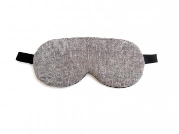herringbone eye mask