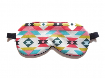 Tribal Organic Cotton Adjustable Sleep Mask