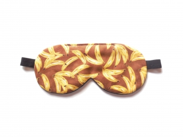 Bananas Sleep Mask, Brown