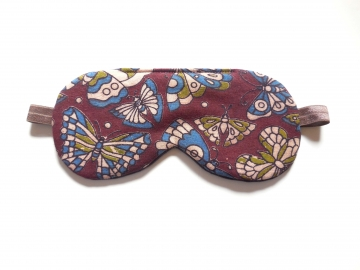 India Butterfly Sleep Mask, Adjustable