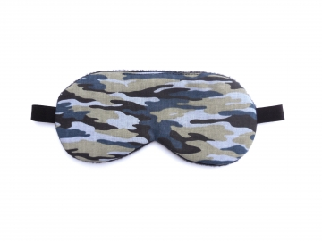 Camo Sleep Mask, Blue