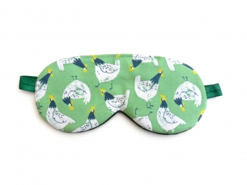 Chickens Sleep Mask, Green