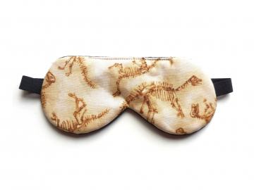 Dino Fossils Sleep Mask