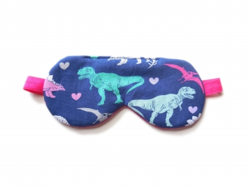 T-rex Sleep Mask, Pink