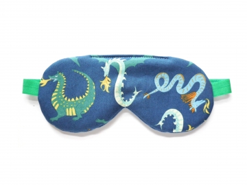 Dragons Organic Cotton Sleep Mask