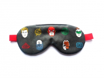 Sleep Mask with DC Superheroes