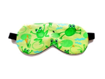 Frogs Organic Cotton Sleep Mask