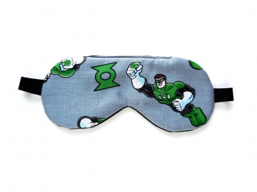Sleep Mask with Green Lantern