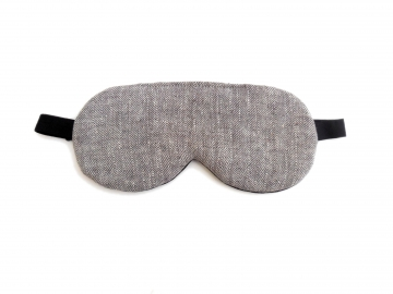 Tweed Organic Cotton Adjustable Sleep Mask
