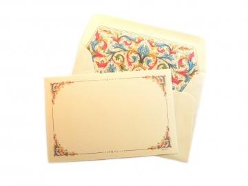 1 Single Card + Envelope, 4x6, Florentia