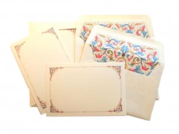 10 Cards + Envelopes, 4x6, Florentia