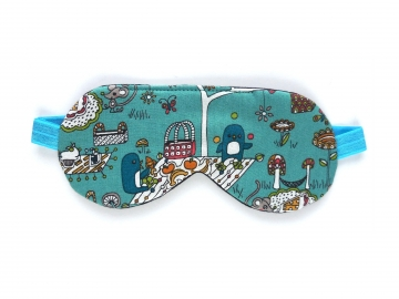 Penguins Organic Cotton Adjustable Sleep Mask