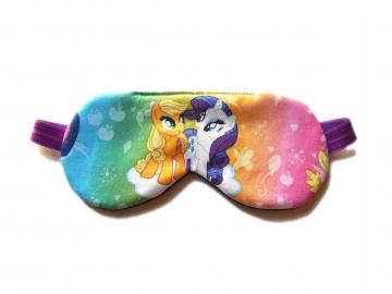 Ponies Sleep Mask, Purple