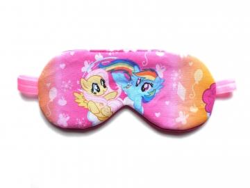 Ponies Sleep Mask, Pink