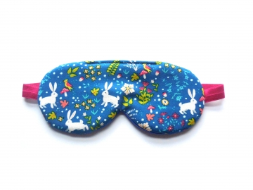 Bunny Garden Sleep Mask