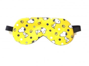 Sleep Mask, Snoopy Yellow