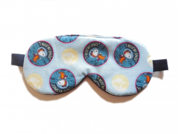 "Sleep Mask, Snoopy ""I need my space"""