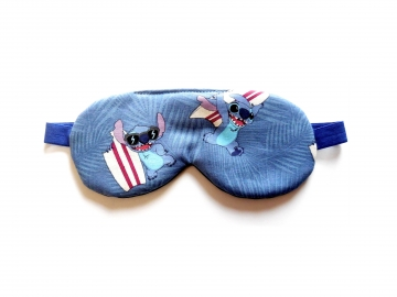 Sleep Mask with Stitch
