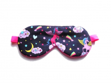 Unicorn and Stars Sleep Mask