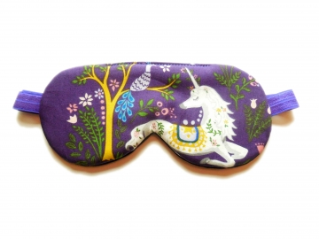 Unicorn Organic Cotton Adjustable Sleep Mask